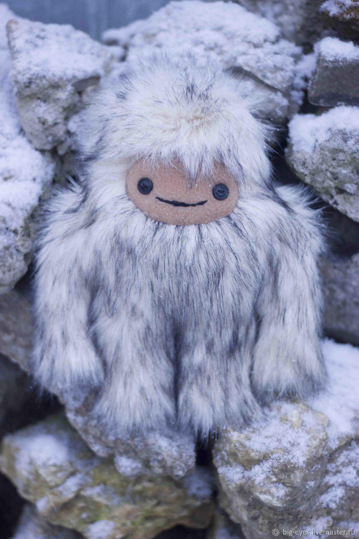 Йети. Снежный человек, Мягкие игрушки, Липецк,  Фото №1