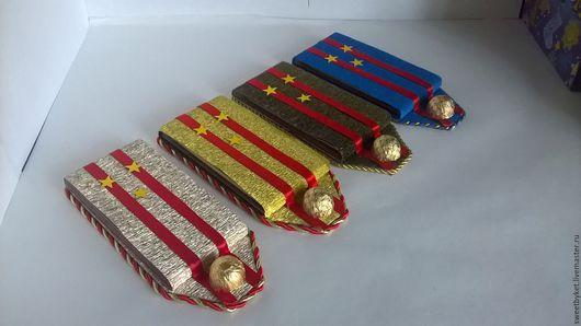 """Подарки для мужчин, ручной работы. Ярмарка Мастеров - ручная работа. Купить Букет из конфет """"Настоящий полковник!!!"""". Handmade. Подарок для мужчины"""