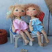 Куклы и игрушки ручной работы. Ярмарка Мастеров - ручная работа АНГЕЛочки для сына и дочки:). Handmade.