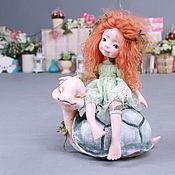 Куклы и игрушки ручной работы. Ярмарка Мастеров - ручная работа А я кататься!.... Handmade.