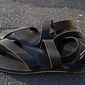 Обувь ручной работы. Ярмарка Мастеров - ручная работа Сандалии Rome кожаные. Handmade.
