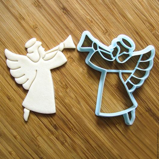 Ангел №4.  Вырубка-штамп для пряников, печенья, мастики, поделок из соленого теста.