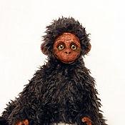 Куклы и игрушки ручной работы. Ярмарка Мастеров - ручная работа Обезьянка Сеня. Handmade.