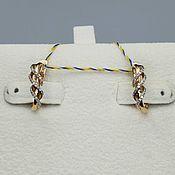 Украшения handmade. Livemaster - original item Gold diamond earrings 0,128 ct. Handmade.