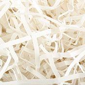 Бумага ручной работы. Ярмарка Мастеров - ручная работа Бумажный наполнитель (белый). Handmade.