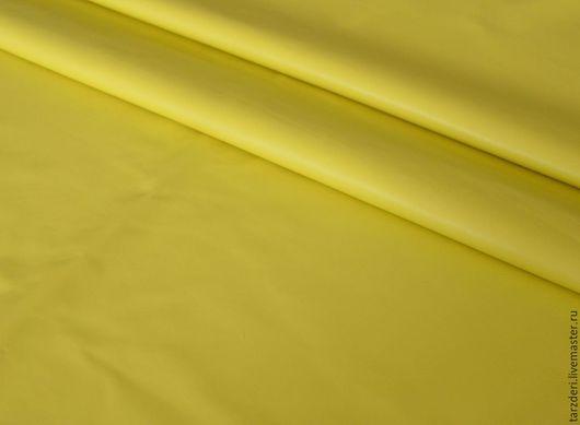 Шитье ручной работы. Ярмарка Мастеров - ручная работа. Купить Желтая тонкая натуральная кожа 0,5 мм. Handmade.