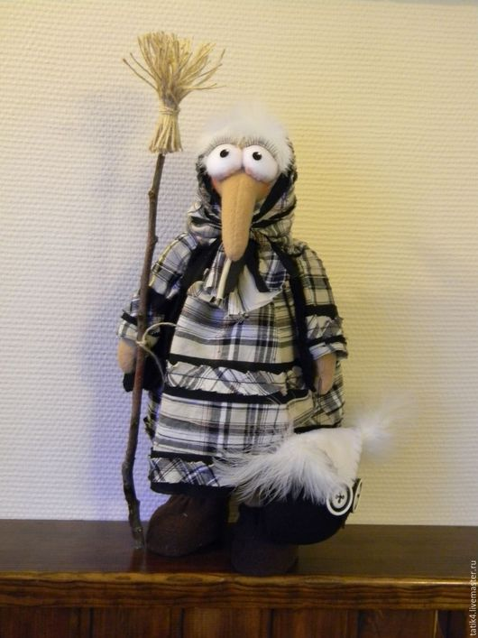 Сказочные персонажи ручной работы. Ярмарка Мастеров - ручная работа. Купить Бабка-Ежка.. Handmade. Баба яга, интерьерная игрушка