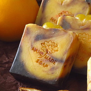 Косметика ручной работы. Ярмарка Мастеров - ручная работа Шелковое мыло Шопельсин, шоколадное, апельсиновое. Handmade.