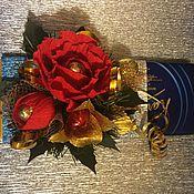 Подарки к праздникам ручной работы. Ярмарка Мастеров - ручная работа Новогодняя шоколадка. Handmade.
