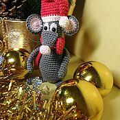 Мягкие игрушки ручной работы. Ярмарка Мастеров - ручная работа Мягкие игрушки: мышь, мышки, новогодние мышки. Handmade.