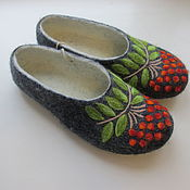 Обувь ручной работы handmade. Livemaster - original item Are Welcome women`s Slippers felted from Merino wool with prevention. Handmade.