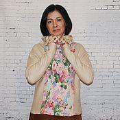 """Одежда ручной работы. Ярмарка Мастеров - ручная работа Валяный свитер """"Нежность"""". Handmade."""