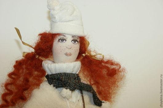 Коллекционные куклы ручной работы. Ярмарка Мастеров - ручная работа. Купить Кукла Изабелла. Handmade. Рыжий, подарок, 100% хлопок