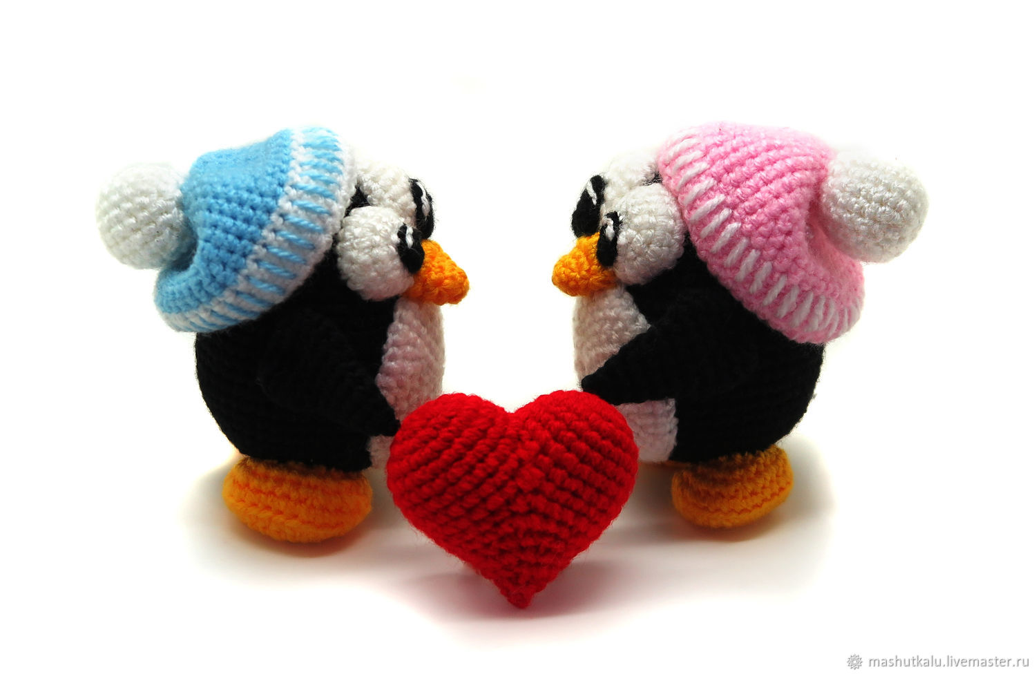 Penguins Sledge crochet toy pattern, amigurumi penguins tutorial ...