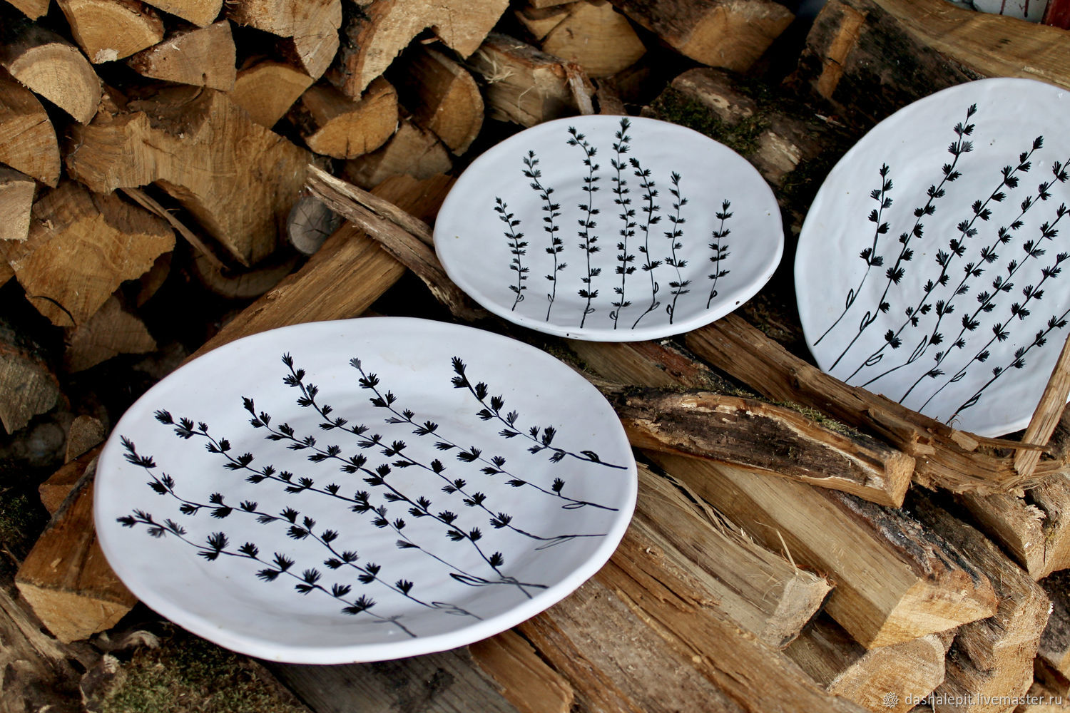 Plate custom made for hand made with a pattern of food colors, Plates, Saratov,  Фото №1