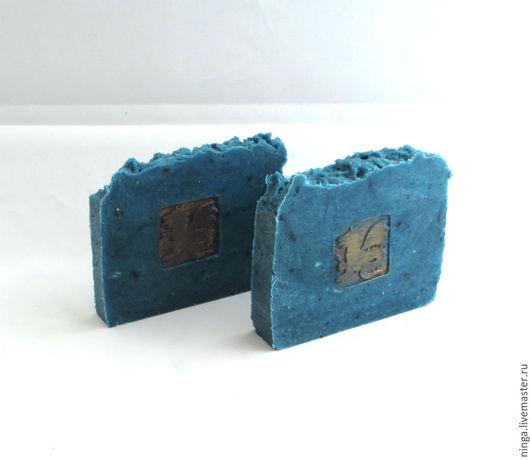 Мыло ручной работы. Ярмарка Мастеров - ручная работа. Купить Шикарррное синее мыло. Handmade. Синий, ванная, подарок, аромат