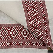 Русский стиль ручной работы. Ярмарка Мастеров - ручная работа Домотканый рушник. Handmade.
