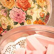 Для дома и интерьера ручной работы. Ярмарка Мастеров - ручная работа Коробка для хранения самого важного))). Handmade.
