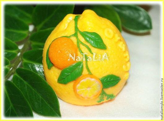 """Мыло ручной работы. Ярмарка Мастеров - ручная работа. Купить Мыло """"Апельсин"""". Handmade. Оранжевый, цитрус, мыло в подарок, подарок"""