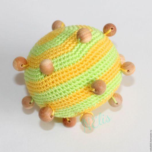 Развивающие игрушки ручной работы. Ярмарка Мастеров - ручная работа. Купить Развивающие тактильные мячики. Handmade. Развивающая игрушка, слингобусы