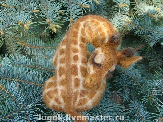 """Игрушки животные, ручной работы. Ярмарка Мастеров - ручная работа. Купить ИГРУШКА жираф """"Сладкий Сон"""". Handmade. Жирафик, в пятнах"""