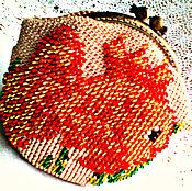 """Сумки и аксессуары ручной работы. Ярмарка Мастеров - ручная работа Косметичка """"Рыбка золотая"""". Handmade."""