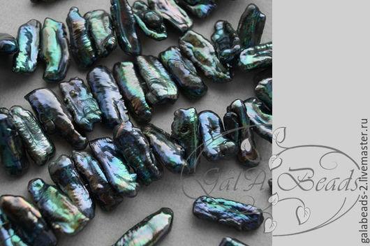 Для украшений ручной работы. Ярмарка Мастеров - ручная работа. Купить Жемчуг Бива (004) 23-9мм. Handmade.