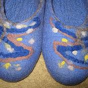 Обувь ручной работы. Ярмарка Мастеров - ручная работа Тапочки из шерсти. Handmade.