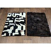 Ковры ручной работы. Ярмарка Мастеров - ручная работа Прикроватный коврик из кусков овчины. Handmade.