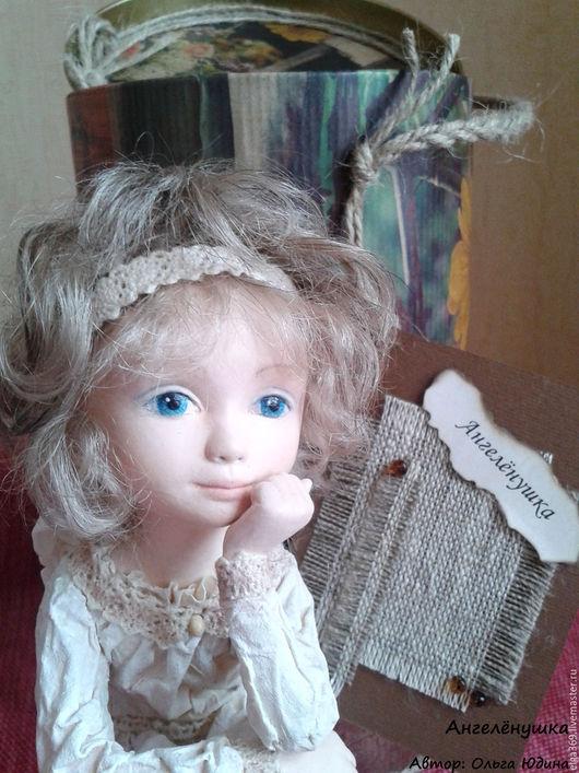 Коллекционные куклы ручной работы. Ярмарка Мастеров - ручная работа. Купить Авторская кукла ручной работы Ангелёнушка. Handmade. Ангел