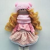 Куклы и пупсы ручной работы. Ярмарка Мастеров - ручная работа Кукла текстильная интерьерная ручной работы Каролина. Handmade.