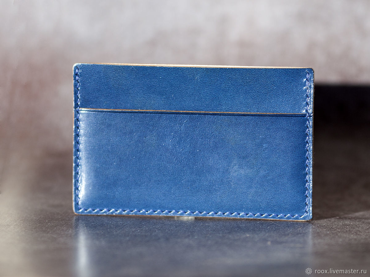 Card holder brogue Avancorpo, Business card holders, Moscow,  Фото №1