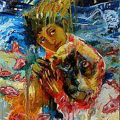 Картины и панно ручной работы. Ярмарка Мастеров - ручная работа Знамение. Handmade.