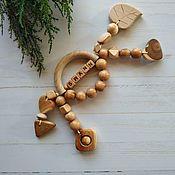 Работы для детей, handmade. Livemaster - original item Rodent-arc of nominal juniper. Handmade.