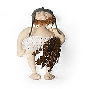 Мягкие игрушки ручной работы. Ярмарка Мастеров - ручная работа Мягкие игрушки: Веселый банщик. Handmade.