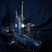 """Канцелярские товары ручной работы. Ярмарка Мастеров - ручная работа подводная лодка """"Кашалотъ"""". Handmade."""