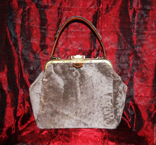 Женские сумки ручной работы. Ярмарка Мастеров - ручная работа. Купить Саквояж зимний. Handmade. Саквояж, сумка, кожа