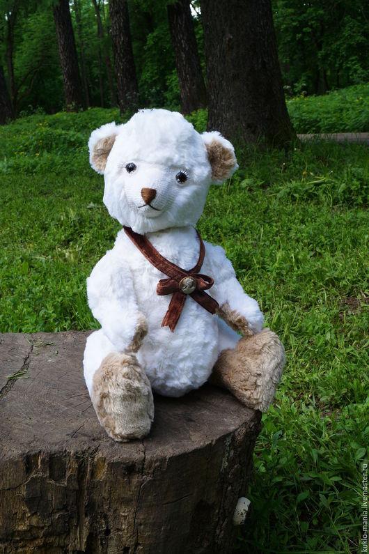 Мишки Тедди ручной работы. Ярмарка Мастеров - ручная работа. Купить Белоснежка,  большая мишка с голосом. Handmade. Белый, принцесса