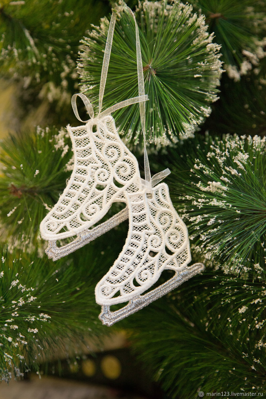 Skates on the tree, Christmas decorations, Samara,  Фото №1