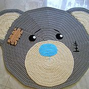 Для дома и интерьера handmade. Livemaster - original item Children`s rug handmade Teddy Bear. Handmade.