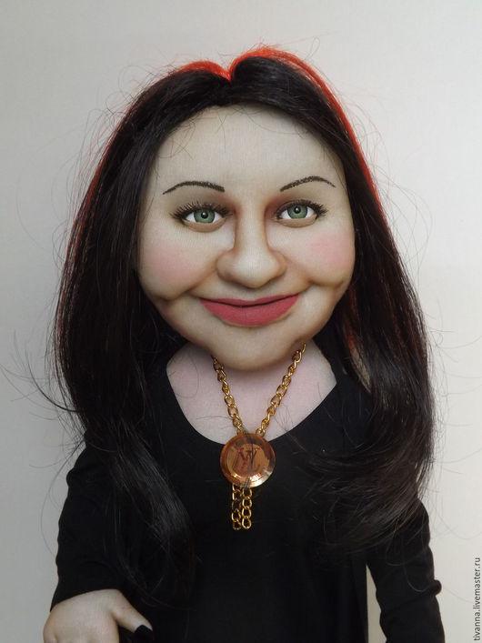 Портретные куклы ручной работы. Ярмарка Мастеров - ручная работа. Купить Портретная кукла.. Handmade. Комбинированный, интерьерная кукла