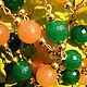 Комплекты украшений ручной работы. Комплект «Ламбада». Украшения от Валентины. Интернет-магазин Ярмарка Мастеров. Бусы, агат, красивый подарок