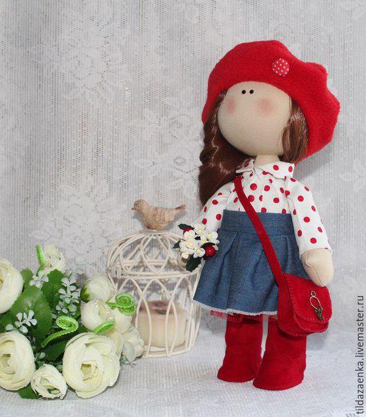 Коллекционные куклы ручной работы. Ярмарка Мастеров - ручная работа. Купить Девочка-студентка. Handmade. Комбинированный, кукла в подарок, студенту