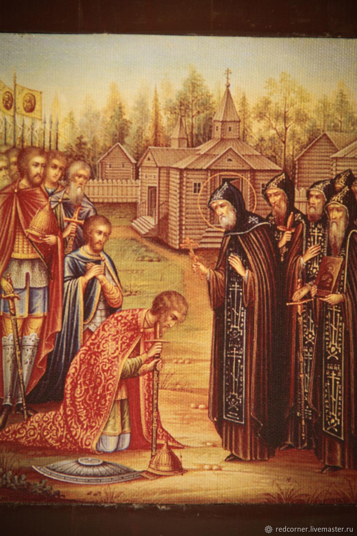картинка благословение дмитрия донского сергием радонежским задача это
