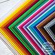 Валяние ручной работы. Ярмарка Мастеров - ручная работа. Купить Набор жесткого корейского фетра 1,2 мм  - 30 цветов. Handmade.