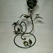 Для дома и интерьера handmade. Livemaster - original item rose wrought iron stand 3. Handmade.