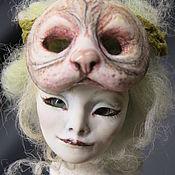 """Шарнирная кукла ручной работы. Ярмарка Мастеров - ручная работа Авторская Шарнирная кукла """"Анна-Ламия кошка"""". Handmade."""