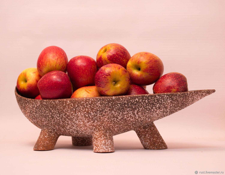 """Ваза для фруктов """"С походкой"""""""