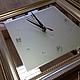 Часы для дома ручной работы. Ярмарка Мастеров - ручная работа. Купить Часы-триптих. Handmade. Серебряный, часы-триптих