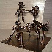Сувениры и подарки handmade. Livemaster - original item Plumber and customer. Handmade.